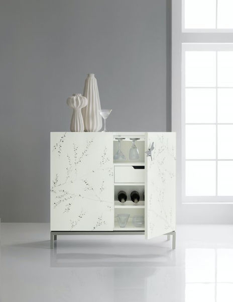 Picture of MELANGE BALE BAR CABINET