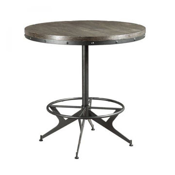 Picture of HIDDEN TREASURES ROUND BAR TABLE