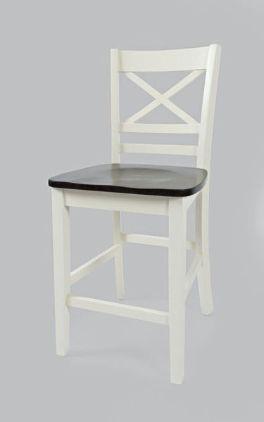 Picture of ASBURY PARK X-BACK STOOL