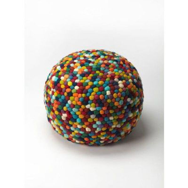 Picture of FELICITY MULTICOLOR POUFFE
