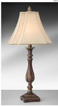 Picture of GOLDEN BRONZE TABLE LAMP