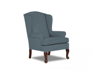 Picture of DORIS QUEEN ANNE WING CHAIR