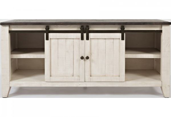 """Picture of MADISON COUNTY  60"""" BARN DOOR MEDIA CONSOLE"""