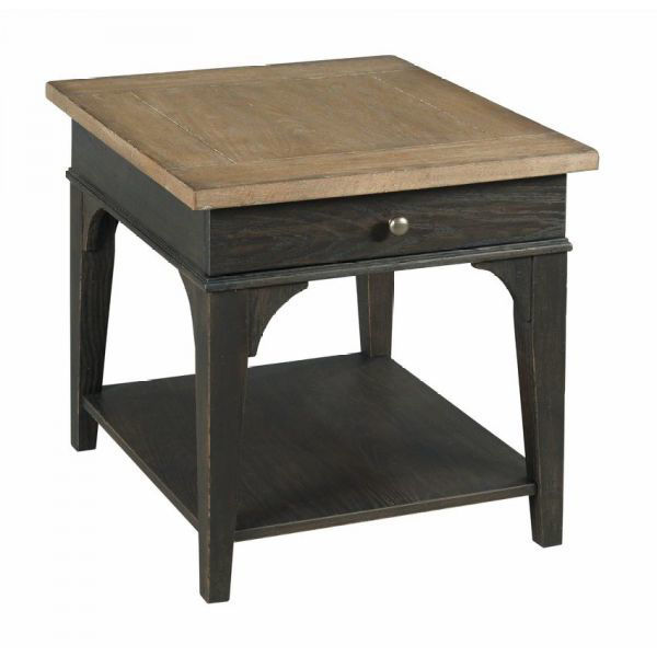 Picture of HANCOCK RECTANGULAR DRAWER END TABLE