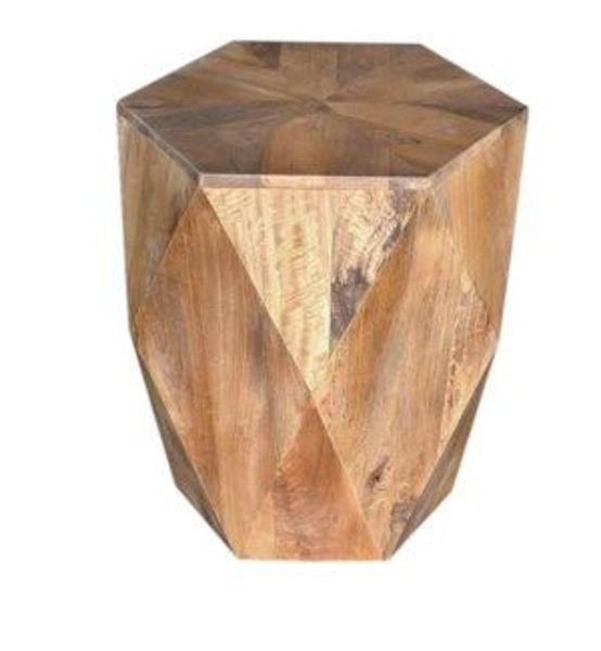 Picture of PLEASANT HILL HEXAGON END TABLE