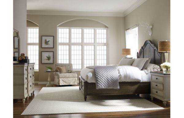 Picture of BROOKHAVEN QUEEN PANEL BED