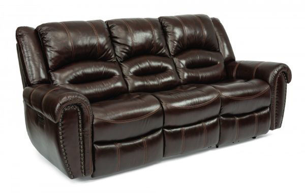 Picture of TOWN POWER RECLINING SOFA W/POWER HEADREST