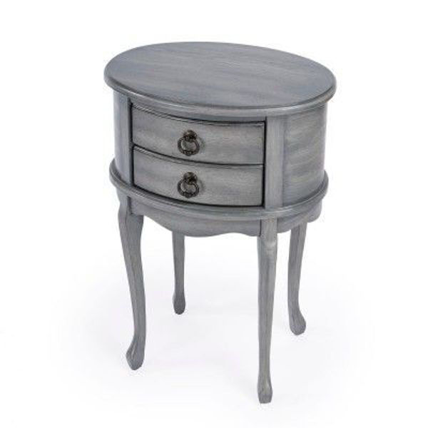 Picture of WHITLEY OVAL SIDE TABLE