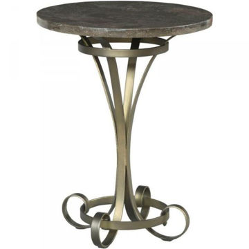 Picture of SAVONA LOUISE ROUND LAMP TABLE