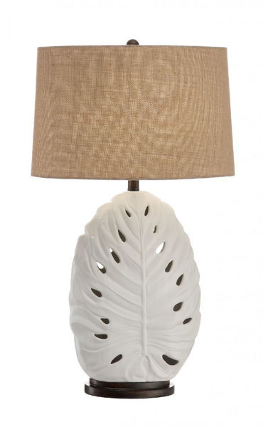 Picture of LEAF TABLE LAMP W/NIGHT LIGHT