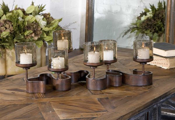 Picture of RIBBON CANDLEHOLDER
